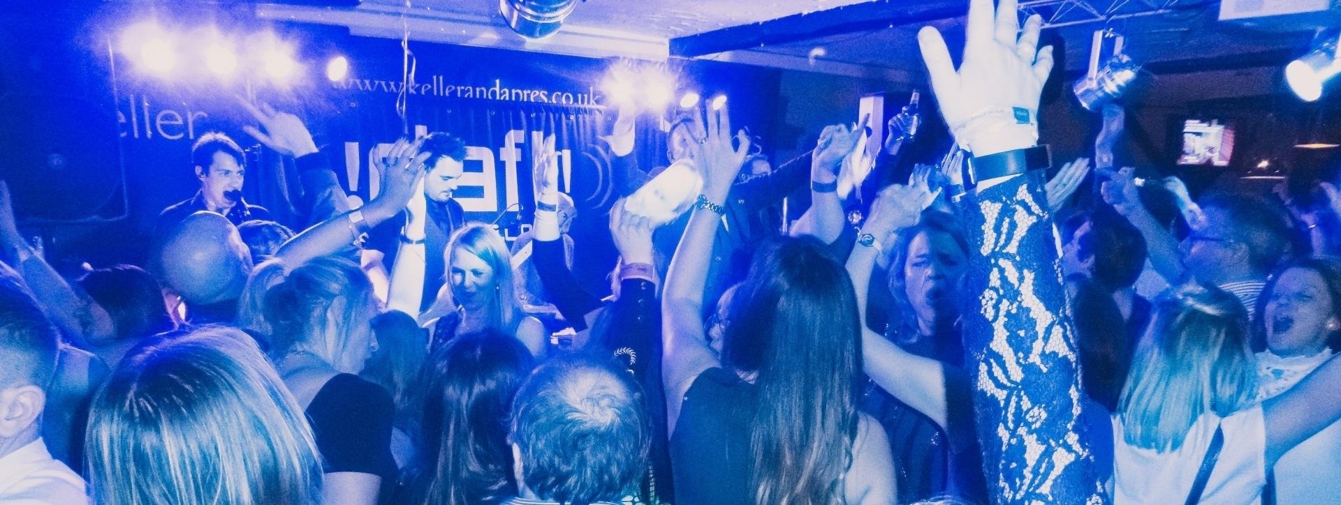 People dancing at The Bier Keller, Bracknell
